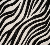 Zebra fabric texture Royalty Free Stock Photos