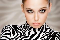 Zebra fashion Royalty Free Stock Images