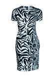 Zebra fashion dress Stock Photography