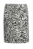 Zebra fashion skirt Royalty Free Stock Photography