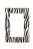 Zebra frame Royalty Free Stock Photography