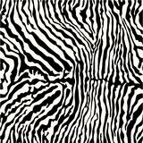 Zebra fur. Vector seamless pattern for fabric and wallpaper vector illustration