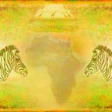 Zebra, Hand drawn sketch illustration Royalty Free Stock Photography