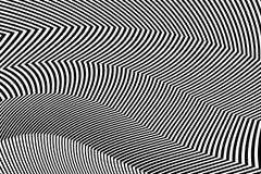 Zebra Design Black and White Stripes Vector Stock Photography