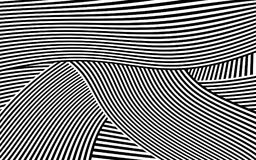 Zebra Design Black and White Stripes Vector Royalty Free Stock Images