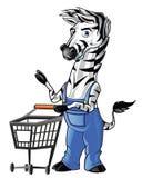 Zebra Mascot Stock Images
