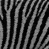 Zebra obdzierający mozaiki wektoru tło Obrazy Stock