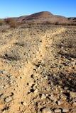 Path in Namibian mountain. Zebra path in Namibian mountain Royalty Free Stock Image
