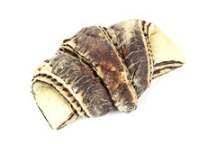 Zebra pattern croissant Stock Image