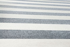 Zebra Pedestrian Crossing. Stock Photos