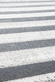 Zebra Pedestrian Crossing. Royalty Free Stock Image