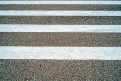 Zebra pedestrian crossing Stock Image