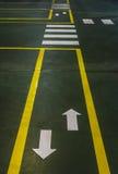 Zebra pedestrian crossing Royalty Free Stock Images