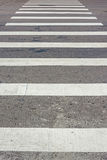 Zebra pedestrian crossing Royalty Free Stock Photo