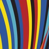 Zebra Pop Abstract Stripe Pattern. Zebra Pop  Abstract Color Stripe Fashion Pattern, Summer Optimistic Design, Art Animal Skin Stock Photos