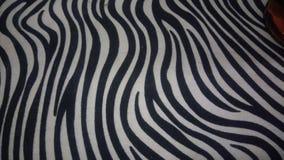 Zebra print. Animal skin fabric Royalty Free Stock Photos