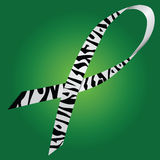 Zebra ribbon Royalty Free Stock Image