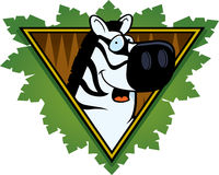 Zebra Safari Icon Royalty Free Stock Photos