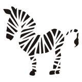 Zebra schematic stock images