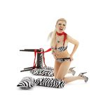 Zebra scream Stock Images