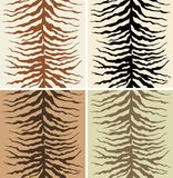 Zebra skin Stock Image
