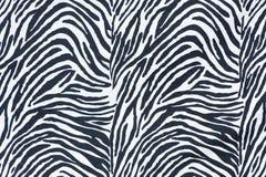 Zebra skin background Stock Photo