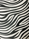 Zebra skin background. Royalty Free Stock Photography