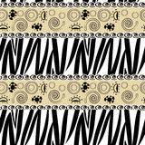 Zebra skin pattern Royalty Free Stock Image