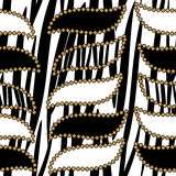 Zebra skin pattern Royalty Free Stock Photography