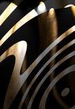 Zebra skin texture Stock Images