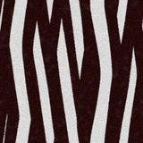 Zebra skin texture seamless Stock Photography