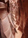 Zebra slot canyon Stock Image
