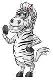 Zebra Smile Royalty Free Stock Images