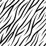 Zebra streift nahtloses Muster Lizenzfreie Stockfotografie
