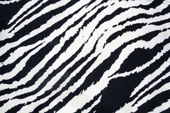 Zebra strip. Texture for background Royalty Free Stock Photos
