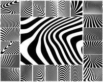Zebra stripes Stock Photography
