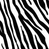 Zebra Stripes Seamless Pattern. Zebra print, animal skin, tiger stripes, abstract pattern, line background, fabric. Amazing hand d royalty free illustration