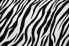 Zebra-Textilbeschaffenheit Stockfotografie