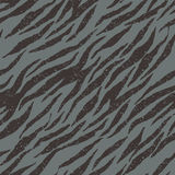 Zebra, tiger stripes seamless grunge pattern in Royalty Free Stock Images