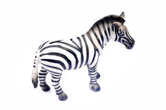 Zebra toy Royalty Free Stock Images
