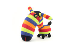 Zebra toy Stock Photography