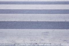 Zebra traffic walk Royalty Free Stock Photo