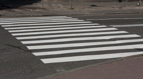 Zebra traffic walk way road photo Royalty Free Stock Photos