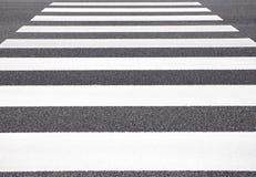 Zebra traffic walk way Royalty Free Stock Image