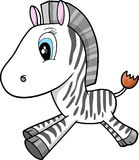 Zebra Vector Illustration Royalty Free Stock Photo