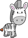 Zebra Vector Illustration royalty free illustration