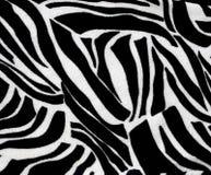 Zebra zwierzęcy druk dla tło i tekstur Obrazy Stock