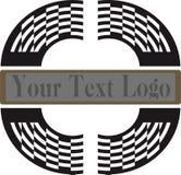 Zebraa stylu loga projekt ilustracja wektor