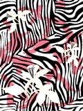 Zebradruckmuster Lizenzfreie Stockfotos