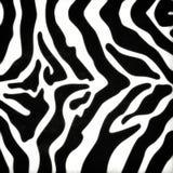 Zebrahautmuster Lizenzfreie Stockfotografie